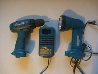 Makita Drill + flashlite